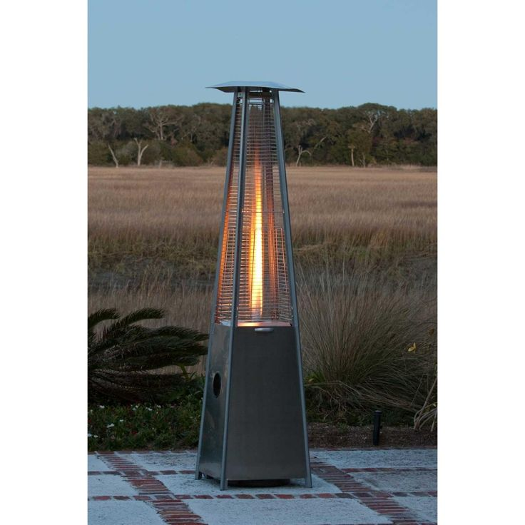 extend your backyard season by providing a uniquely visual flame fire sense patio heaters - Outdoor Propane Heaters