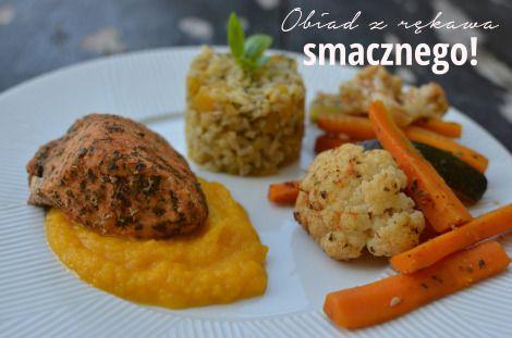 obiad z rękawa - indyk z warzywami :)