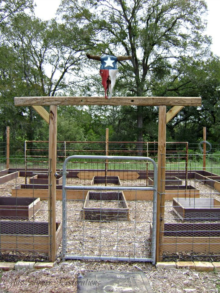 Raised Garden Beds Made From Salvaged Wood :: Hometalk