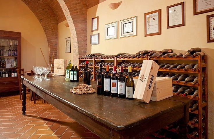 Sala degustazione - Wine Tasting Room