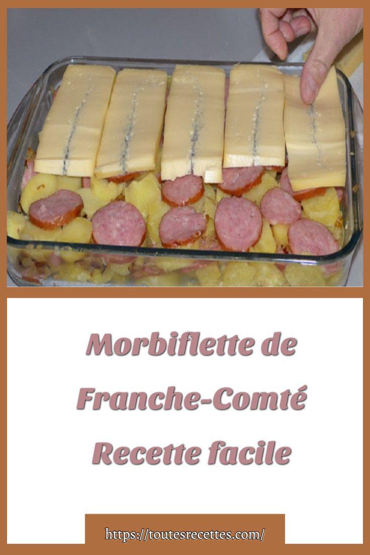 Morbiflette De Franche Comte Recette Facile Toutes Recettes En 2020 Recette Facile Recette Tartiflette Savoyarde
