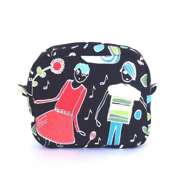 Makeup Zipper Bag // Toiletry Bag // Vanity Case // Water Resistant Zipper Pouch // Beauty Case