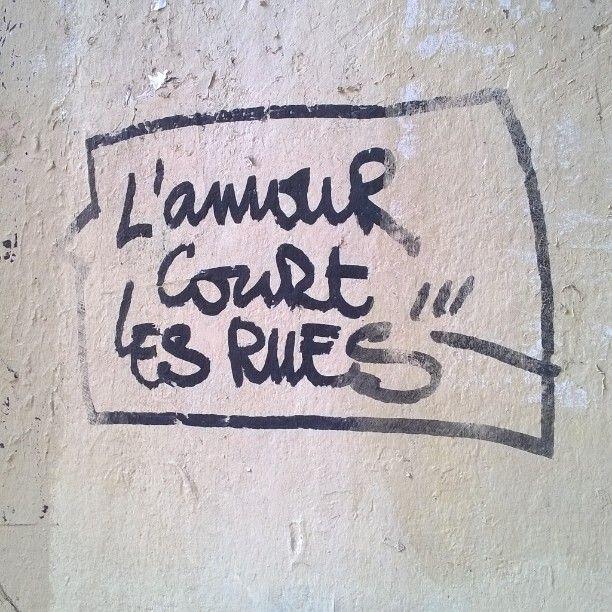 Et si c'était vrai ! / Street art. / Paris, France. / Photo by Eleonore Toutain sur Instagram.