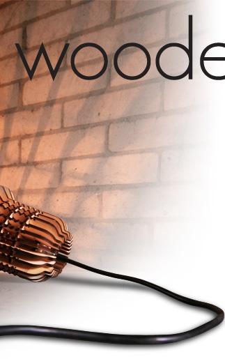 SUCK UK - Wooden Bulb