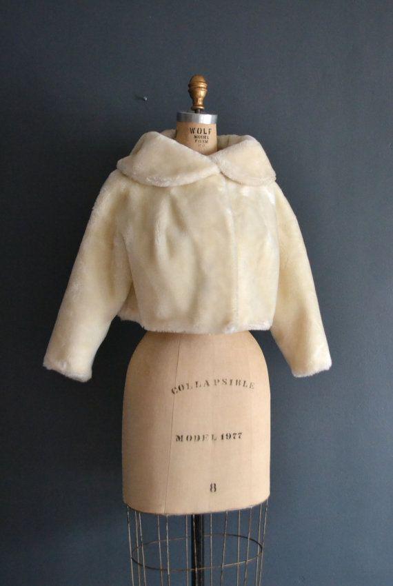 manteau de fourrure Vintage / manteau des années par BreanneFaouzi