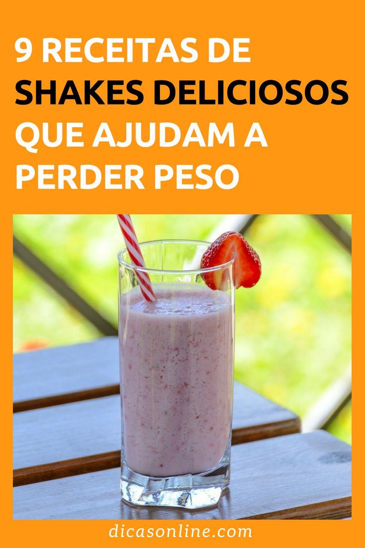 9 milkshake receitas para perder peso   – Alimentação
