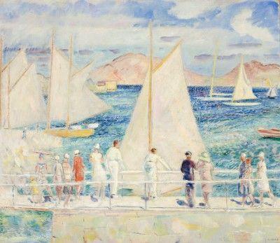 Arne Kavli (1878 – 1970): Seilere, Sverige
