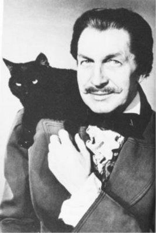 75 Celebrities Who Are Cat People Cat People Men With Cats Cat Lovers