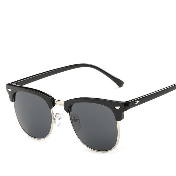 #FASHION #NEW Hindfield UV400 Sunglasses Men Women Brand Designer Dark Glasses Coating Mirror Sun Glasses Unisex Driving Eyeglasses
