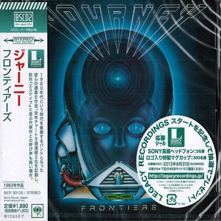 Journey - Frontiers - Japan Jewel Case Blu-Spec2 - SICP-30120 - CD