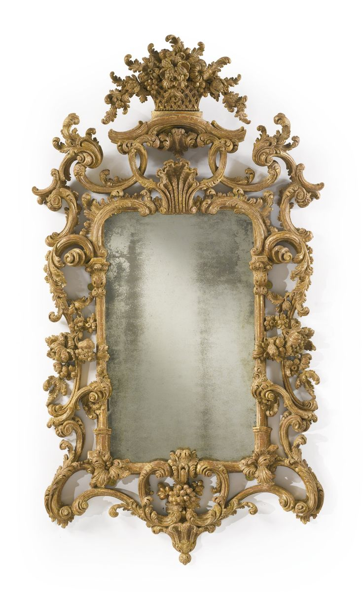 A fine George II giltwood pier mirror circa 1755-60 | Lot | Sotheby's