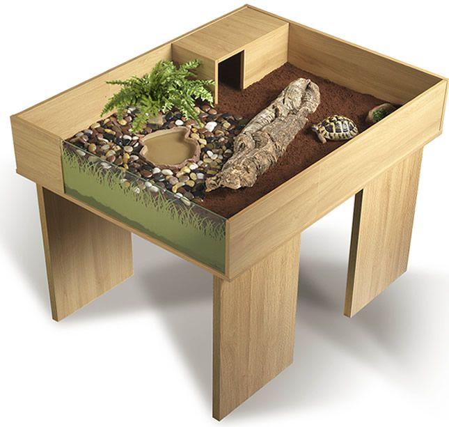 Vivexotic viva tortoise table stand oak discover more for Tortoise table org uk
