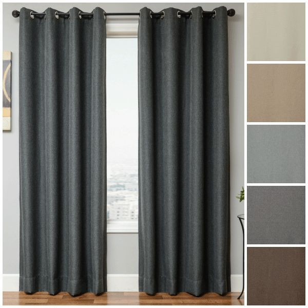Get the sleep you need with with Blindsgalore Signature Drapery Panels - Blackout panels - Blindsgalore Blog #blackoutdraperypanels