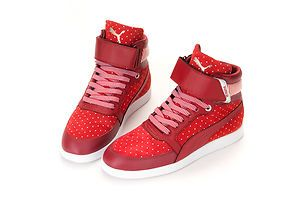 BN Puma Skylaa Hi Polka Dot Womens Basketball Shoes P190 P191 Gift | eBay