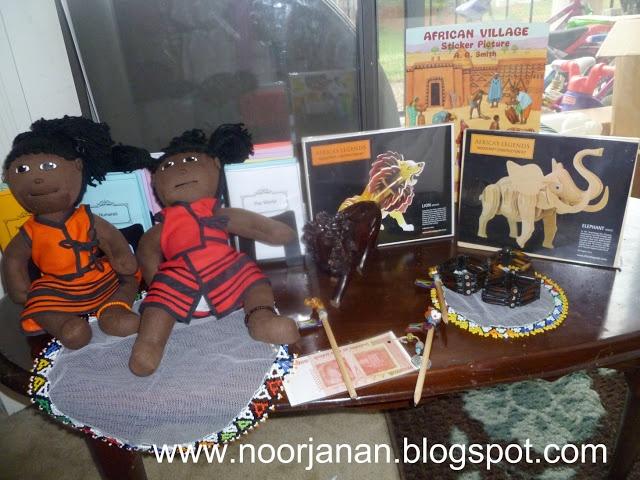 Noor Janan Homeschool: Africa Continent Box