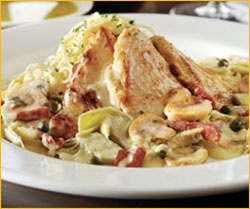 Macaroni grill Chricken Scaloppine recipe http://www.food.com/recipe/romanos-macaroni-grill-chicken-scaloppine-122046
