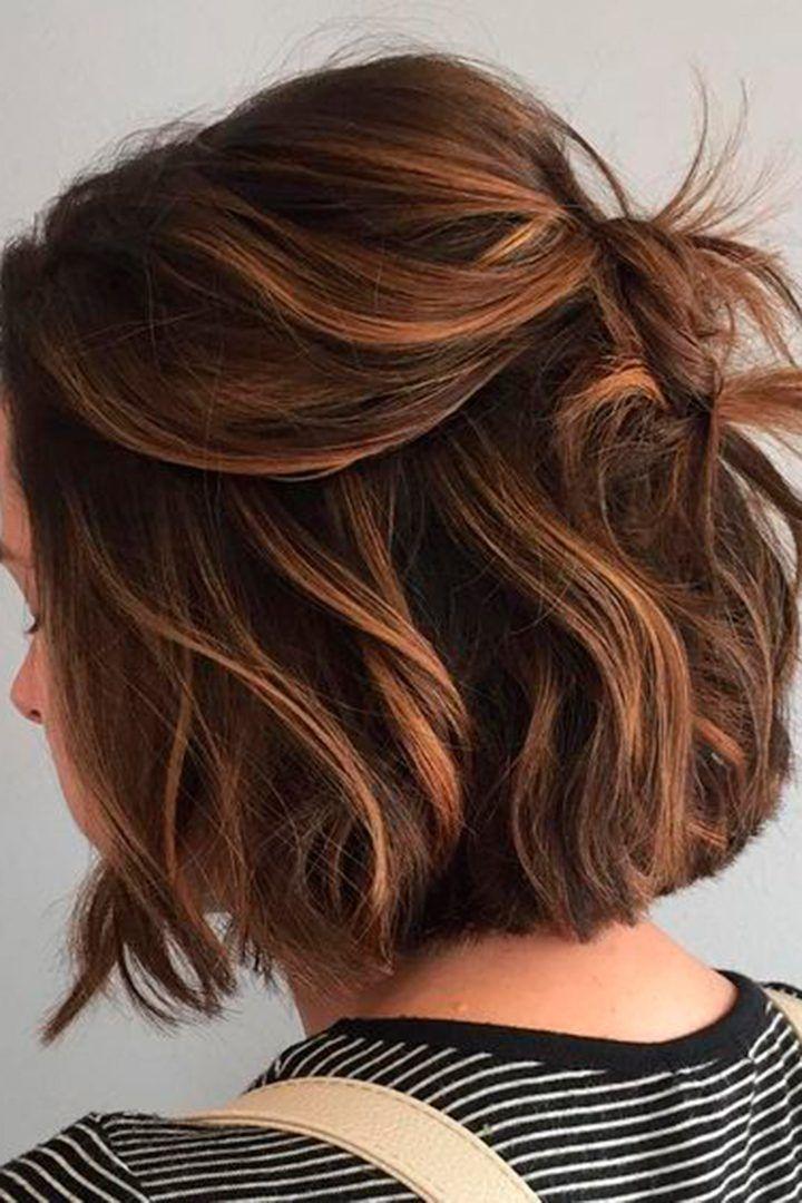 80 Peinados Pinterest Para Esta Primavera Moda Stylelovely Cabello Color Caramelo Peinados Cabello Corto Peinados Poco Cabello