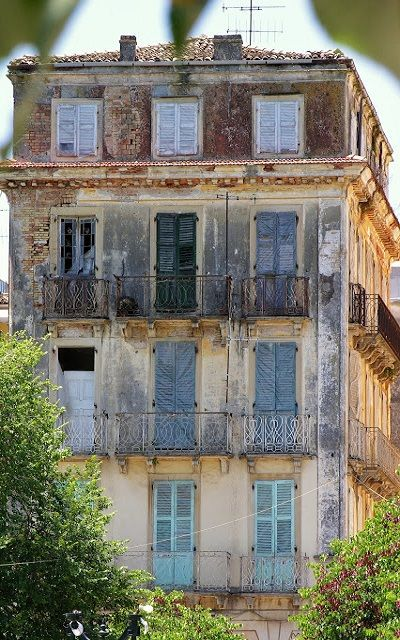 Old House.. Corfu Island (Ionian), Greece