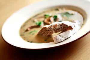 Zupa grzybowa | Przepisy kulinarne - Codogara.pl | Mushroom soup http://www.codogara.pl/9955/zupa-grzybowa/