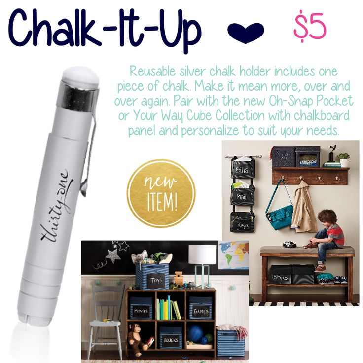 Chalk-it-up by Thirty-One. Fall/Winter 2015. Click to ...