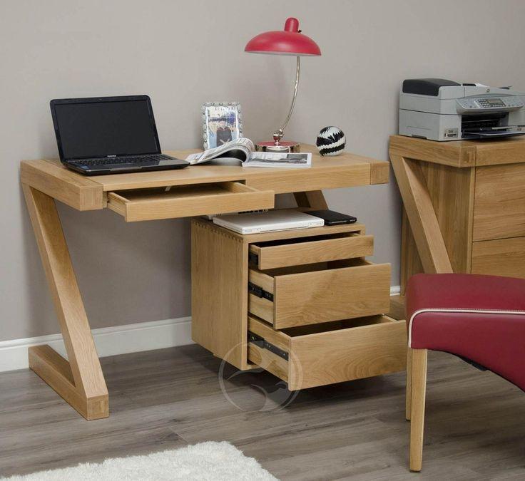 solid oak computer desks for home