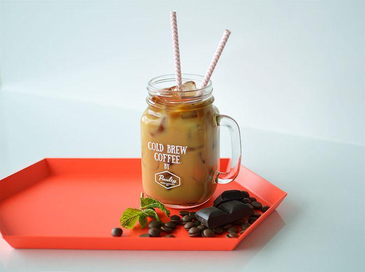 Как приготовить кофейный коктейль колд брю «Мята-шоколад» | Paulig.ru