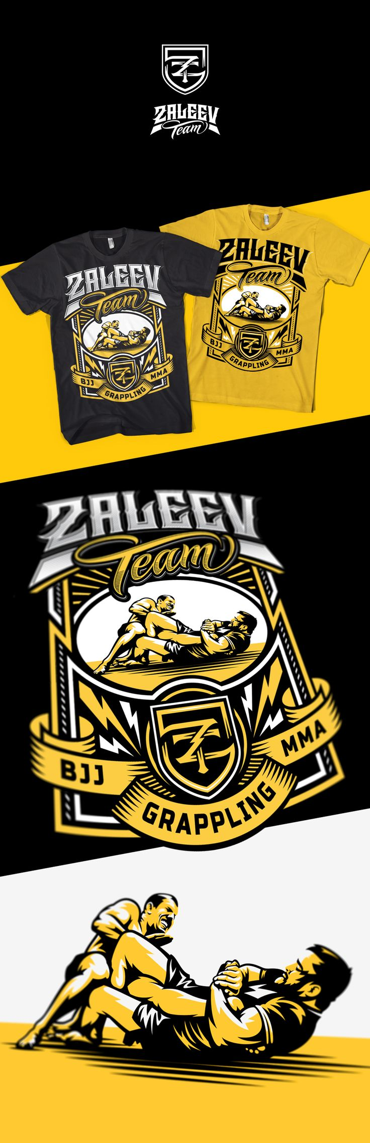 Design t shirt rollerblade - T Shirt Design For Fighting Team Based In Moscow