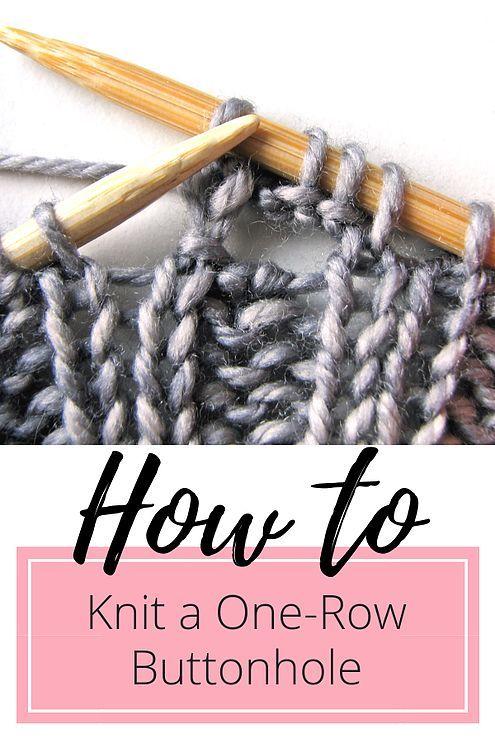 Tutorial: Caseados de uma fileira :: talvi knits. Aprenda a tricotar o buttonho perfeito ...