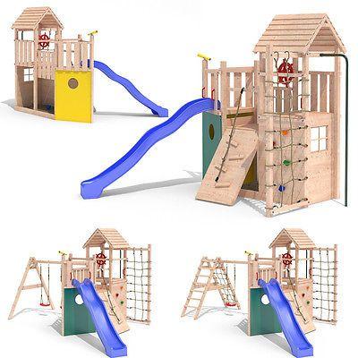 kon tiki neo ii spielturm piratenschiff kletterturm rutsche schaukel stelzenhaus spielturm. Black Bedroom Furniture Sets. Home Design Ideas