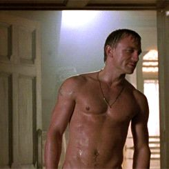 "nakedwarriors: ""Daniel Craig ~ Lara Croft: Tomb Raider """