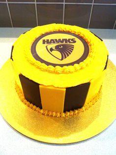 AFL Hawthorn cake