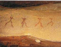 San painting - History for kids website