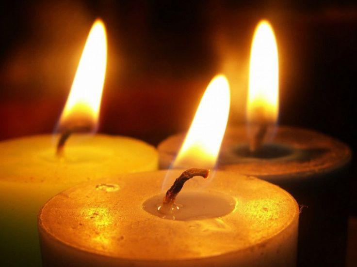 Отжиг негатива свечой...