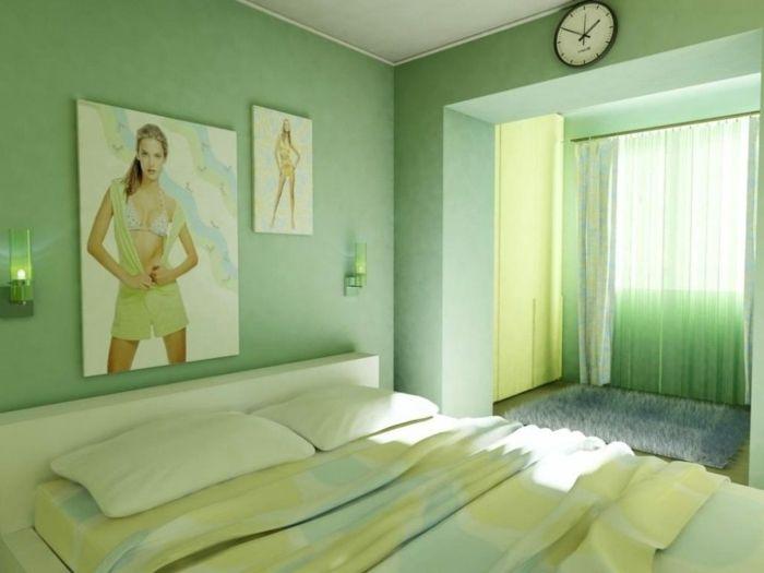 1001 Ideas Sobre Colores Para Habitaciones En Tendencia Pinturas De Pared Verdes Paredes De Color Verde Claro Colores Para Habitaciones