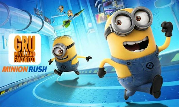 App del Día de iPadizate: Gru. Mi Villano Favorito: Minion Rush para iPad, iPad Air, iPad Mini y iPhone