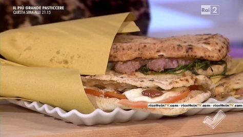 """""""Detto Fatto"""": la ricetta del panuozzo di Gianfranco Iervolino del 17 novembre 2015."""