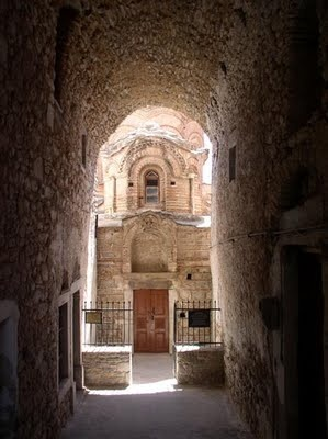 Christian temple, Byzantine period # Pyrgi Chios