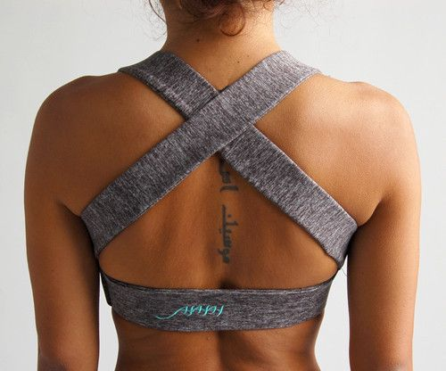 Sports Bra Classic / Heather Grey