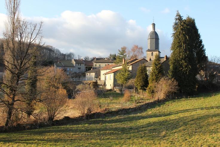 Saint Slyvestre, France. Glorious Countryside.