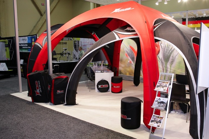 Las Vegas Exhibitor Trade Show | X-GLOO 6x6 and 5x5