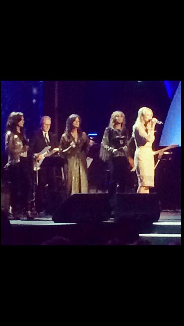 Martina McBride, Jennifer Nettles & Miranda Lambert with Carole King