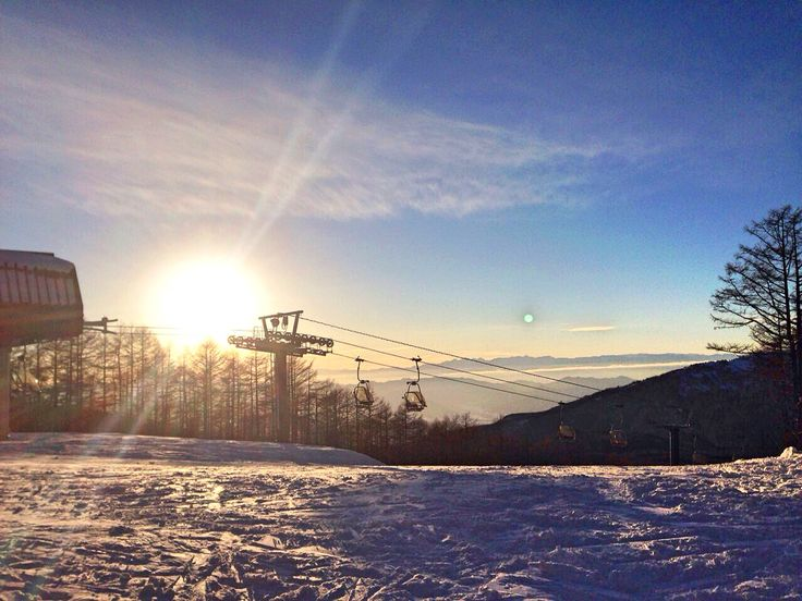 after snowboard awesome☺︎