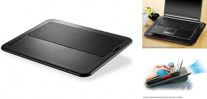 Cooler Master NotePal LapAir - #1 Top Rated Best Lap Desks For Laptop