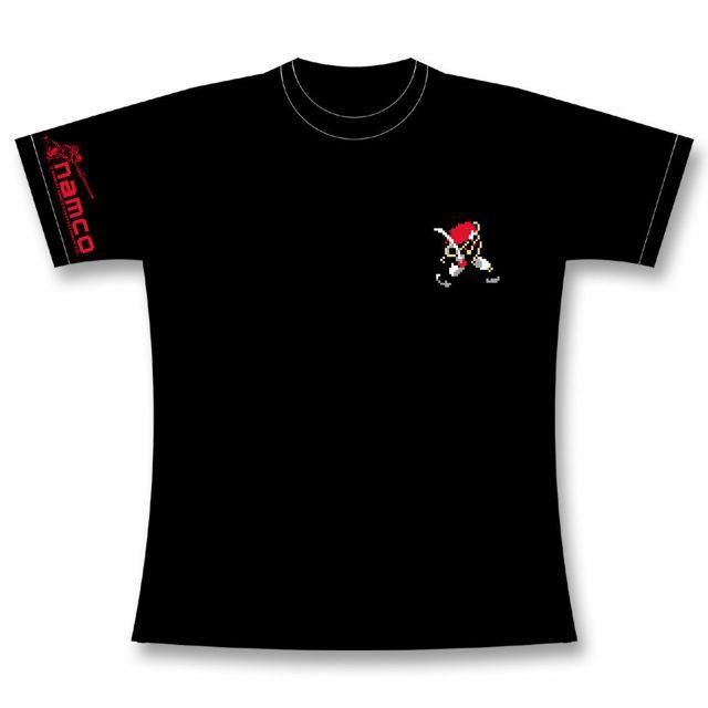 """""""GAMES GLORIOUS x NAMCO"""" spring and summer collaboration new product · """"Genpei T-shirt""""  「GAMES GLORIOUS x NAMCO」春夏コラボ新商品・「源平討魔伝Tシャツ」がCCONTROLLERでも同時発売です!   【源平討魔伝】:1986年に発売された、鎌倉時代の源平合戦を題材にしたアクションゲーム。2016年現在、未だにカルト的な人気を誇るナムコを代表する作品の一つである。  1185年の壇ノ浦の戦いで戦死した主人公・平景清が、「ぷれいや」なる異次元の者からの布施により復活して義経や弁慶と戦い、三種の神器を集めて平家の仇敵源頼朝を討ち取るべく鎌倉へと東上する内容となっている。  胸に主人公のドット絵、袖にビッグモードのドット絵とロゴ、背中にゲームの3モードの要素をリミックスしたオリジナルエンブレムのデザインとなります。   【サイズ展開】: S / M / L / XL / XXL"""