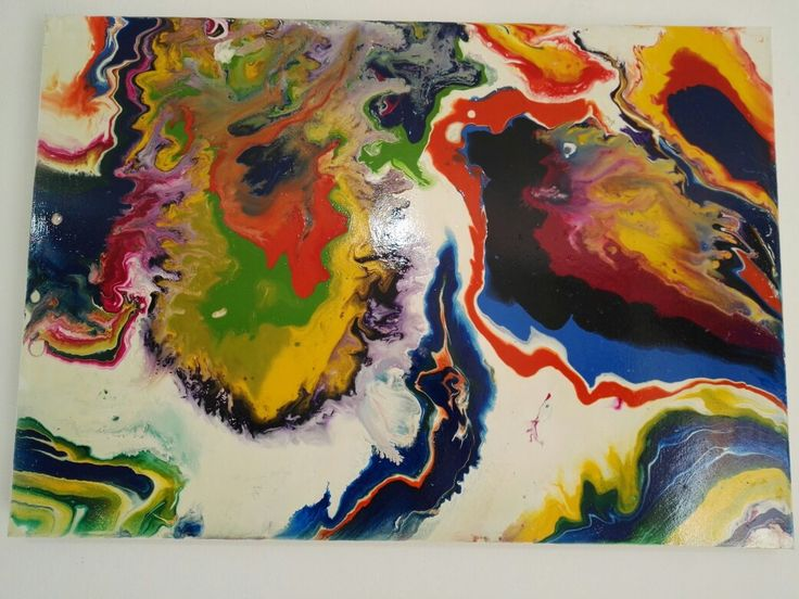 Abstracto 120X90 retablo MDF pintado con acrílicos!!!