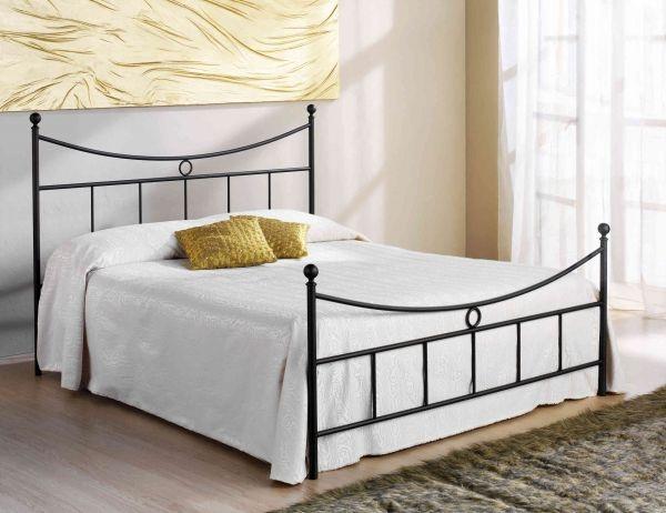 Letto in ferro battuto tarso cod cstar marca tarso letto in ferro battuto completo di - Letto completo di rete e materasso ...