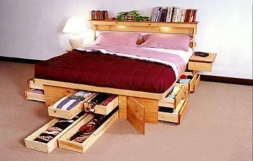 10 ideas para espacios reducidos, para mi cama