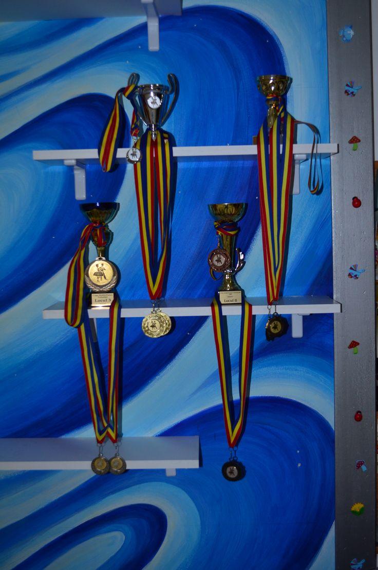 Medaliile de la Școala de dans Lotus Dance București http://www.lotusdance.ro