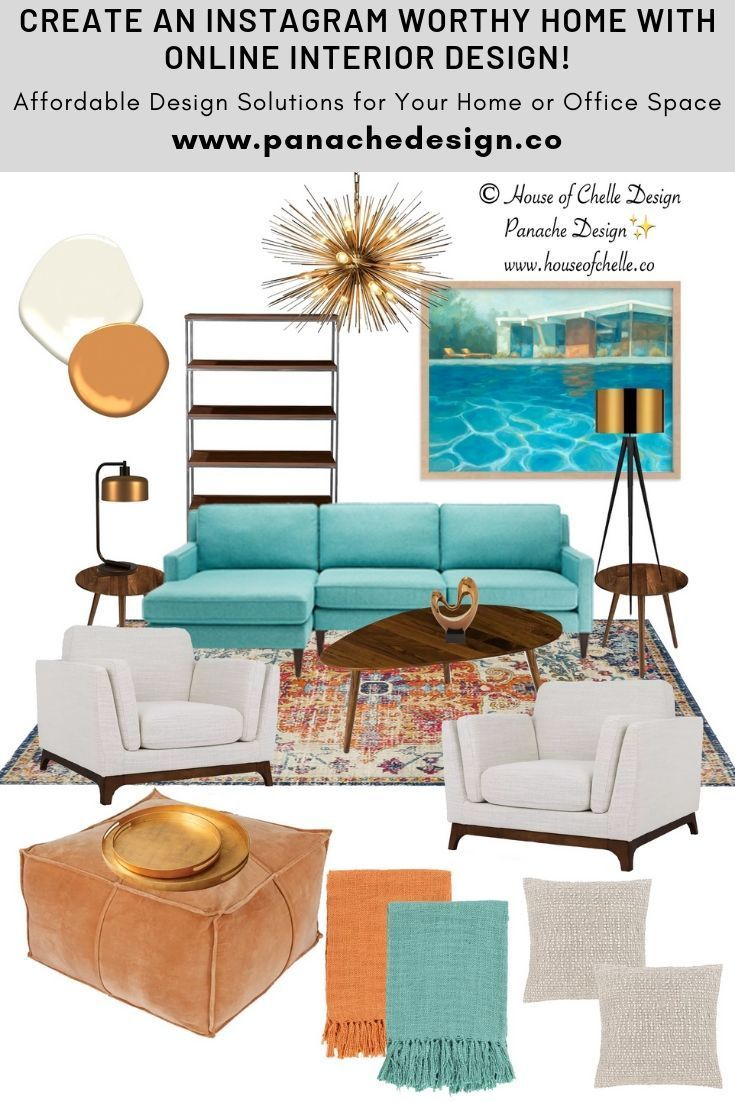 Online Interior Design Services Fees Personalized Stationery With Images Mid Century Interior Design Online Interior Design Interior