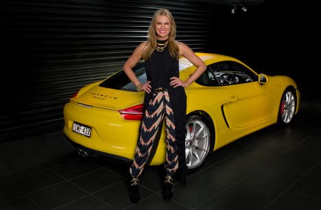 Sonia Kruger a 'woman with drive' teams up with Porsche